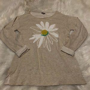 J.Jill Daisy Thin Pullover Crewneck Sweater
